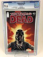 Walking Dead # 43 CGC 9.6 NM+ (Oct 2007 Image) WP Kirkman Adlard AMC not 9.8