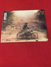 Original Yamaha IT125 motorcycle brochure excellent