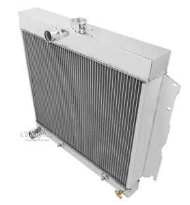 """1963 1964 1965 1966 1967 -1969 Plymouth Fury 3 Row DR Radiator (22"""" Wide Core)"""