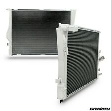 40mm ALUMINIUM RADIATOR FOR BMW 3 SERIES E90 E91 E92 E93 316i 320i 330i 04-13