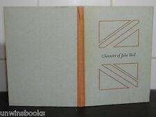 CHARACTER of JOHN BULL William Hazlitt SIGNED Graham Williams illus HARDBACK