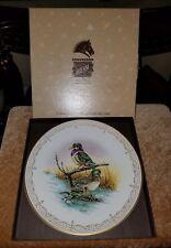 "Edward Marshall Boehm - Water Birds Of North America Plate ; "" Wood Ducks""."