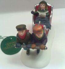 Dept 56 Heritage Village Collection Accessories Winter Sleigh ride 5825-4
