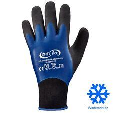 Arbeitshandschuhe Wasserdicht Thermo Latex Winterhandschuhe gefütterte Handschuh