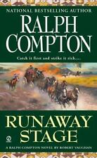 ** MINT ** RUNAWAY STAGE by Compton (Sundown Riders, No. 8) - Paperback 2002