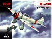 "Nakajima ki 27 b ""nate"" - japonais af markings 1/72 icm"