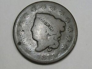 1819 US Coronet Head Large Cent Coin (Small Date). #27