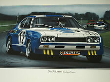 COLOGNE FORD CAPRI RS2600 RS 2600 FORD DIETER GLEMSER SPA FRANCORCHAMPS 24 HOURS