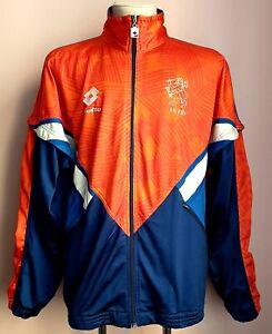 Netherlands 1991 - 1992 Home football Lotto Jacket coaching staff