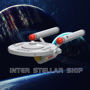 Star Trek USS Enterprise Star Ship Constitution Class MOC-6021 Educational Toy