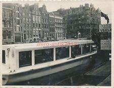 Foto, Motorboot in Amsterdam (N)19785