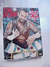 WWE DVD CM PUNK BEST IN THE WORLD 3- DISC SET 2012