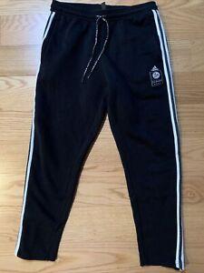 adidas Germany Icons Training Pants – Black DFB FI1454 Soccer Cotton Blend Sz L