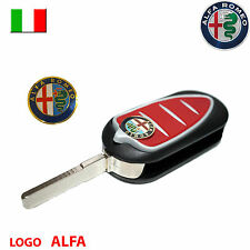 Logo stemma telecomando chiave guscio auto ALFA ROMEO Giulietta Mito GT
