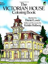 Adult Coloring Books The Victorian House Design  Patterns Architecture Dover Pub