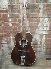 Vintage Catania Carmelo 5/12/1957 GUITARE chitarra Tip n 16 Italy Acoustique 1950 S
