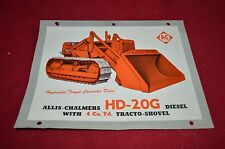 Allis Chalmers HD20G Crawler Tractor Loader Dealers Brochure AMIL12 ver1