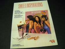 Sweet Inspirations get yourself Hot Butterfly 1979 promo poster ad Bee Gees ref.
