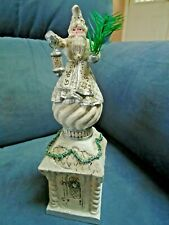 "P. Schifferl Winter White Holiday Santa 8"" Figurine Midwest of Cannon Falls"
