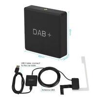 DAB+ Box Digital Radio Antenna Tuner FM Transmission USB Powered For Android 5.1