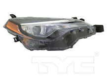 TYC NSF Right Side Headlight For Toyota Corolla w/ LED DRL 2017-2019 L LE Models