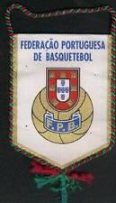 PORTUGAL BASKETBALL FEDERATION SMALL PENNANT 13x10cm