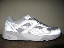 RARE Puma Trinomic R698 Reflective 3M Silver Metallic sz 10.5 shoes sneakers