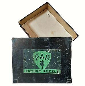 Vintage PAR Picture Puzzle 750 pieces Straight Scotch by H Hadland 1930s