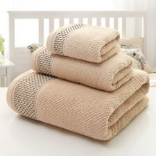 Cotton Absorbent Bath Hand Towels Washcloth for Bathroom Hotel Spa Pool Beach