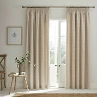 ASHLEY WILDE Buckland Willow Design Pencil Pleat Header ReadyMade Lined Curtains