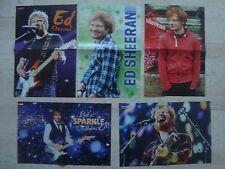 5 fantastic Ed Sheeran magazine poster centerfold