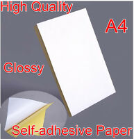 A4 Selbstklebende Aufkleber Papier Blätter Laserdrucker Adress Grafik Etiketten