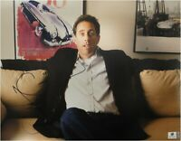 Jerry Seinfeld Signed Autographed 11X14 Photo Comedian on Couch JSA U16749
