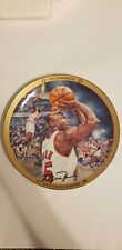 """UPPER DECK MICHAEL JORDAN """"THE COMEBACK"""" LIMITED EDITION 8"""" PLATE WITH COA"""