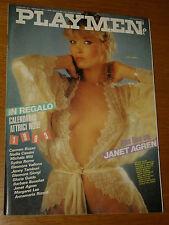 PLAYMEN 1983/1=JANET AGREN=MITZI=CATTARINICH=LERNER KAUFMANN=MILO MANARA=RIVISTA