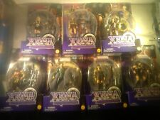 Toy Biz, Lot Of 7, Xena Warrior Princess, 6 Inch Figures, as seen on Tv