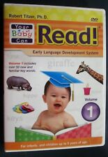 Your Baby Can Read DVD Rober Titzer, Ph.D. 9781591258162