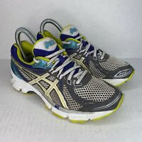 Asics Gel Equation 6 T2D7N Womens Size 5 Lace Up Running Training Shoes Sneakers