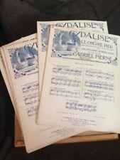Partitions de chansons anciens et vintage pour piano