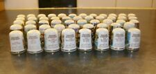 More details for a thimble display dome complete with 50 history of britain thimbles