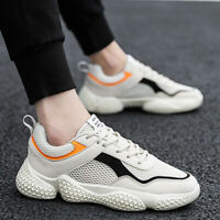 Men's Shoes Breathable Outdoor Sports Running Sneakers Walking Casual Shoes Size