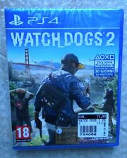 WATCH DOGS 2 PAL PS4 PLAYSTATION 4 NUOVO