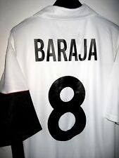 #8 Rubén BARAJA Valencia Camiseta Nike Football Shirt Home Maillot 2001-2002 XL