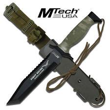 KNIFE COLTELLO DA CACCIA MTECH-676TC SURVIVOR SOPRAVVIVENZA SURVIVAL STILE RAMBO