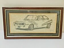 Alfa Romeo Alfasud Rally Car Signed limited Edition Print