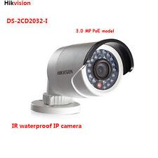 Hikvision DS-2CD2032-I 3MP PoE Outdoor HD IR Bullet IP cctv surveillance camera