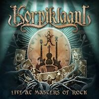 KORPIKLAANI - LIVE AT MASTERS OF ROCK  2 BLU-RAY+CD NEW+