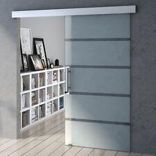 Sogood porte coulissante porte glissante en verre pour bureau cuisine etc AMALFI