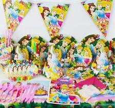 95PCS PRINCESS Birthday PARTY SUPPLIES RANGE SET BALLOON Plates Napkin BANNER,