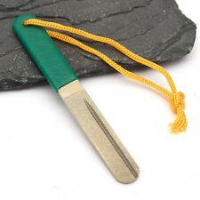 Hook Sharpener Fish Diamond Lansky Fishing Sharpening 3 Knife Stone Pocket Grit